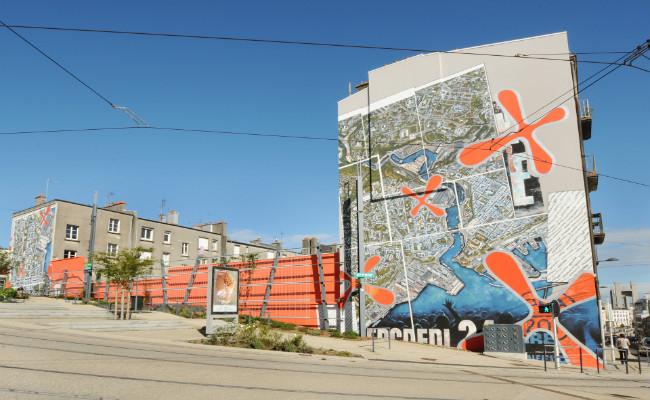 Les fresques de la Rive Droite à Brest
