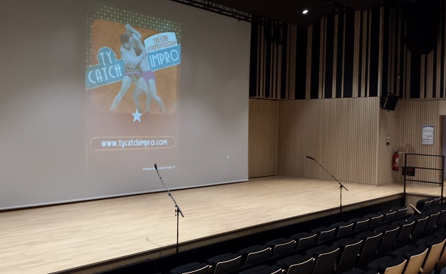 auditorium centre de congrès Quimper