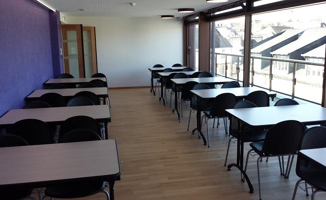 Espace restauration du centre de congrès de Quimper