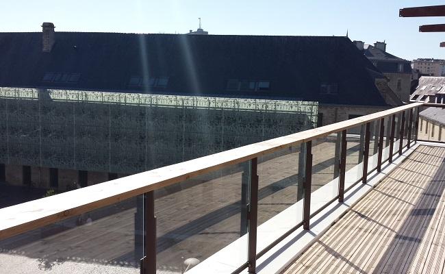 Terrasse centre de congrès Quimpe