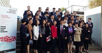 Une cinquantaine de réprésentants des chaînes de téléachat chinois à Rennes