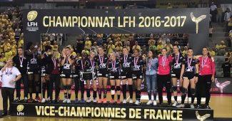 Brest Bretagne Handball vice champion 2017
