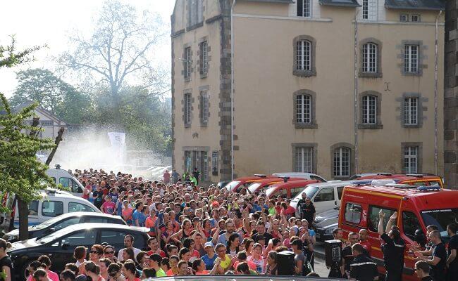 Rennes Urban Trail 2018 pompiers