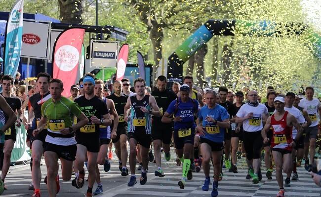 Rennes Urban Trail 2018 24 km