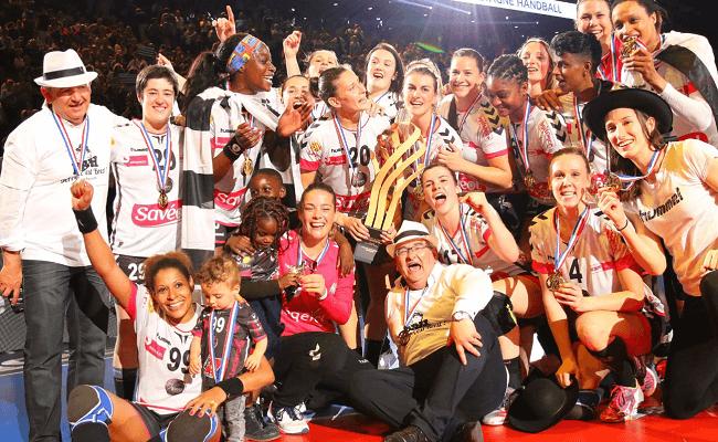 Victoire en Coupe de France 2018 du Brest Bretagne Handball