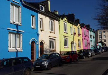 Maisons colorées Brest
