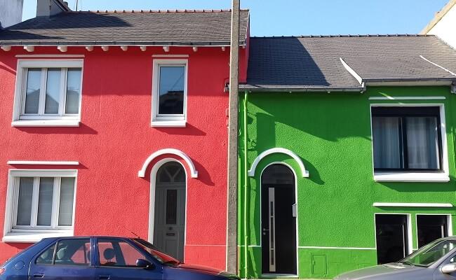 Facades couleurs Brest